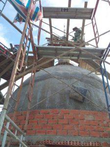 Lắp đặt chống sét nhà biệt thự tại Bắc Ninh