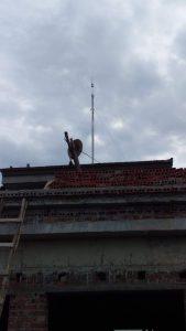 Lắp đặt chống sét nhà biệt thự tại Vĩnh Phúc