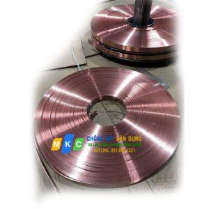 Băng đồng tiếp địa 25x3mm (Đồng đỏ)