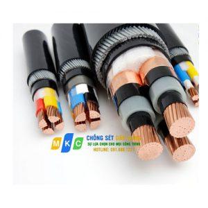Cáp Đồng 2 Ruột, Bọc Cách Điện PVC