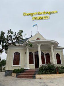 Lắp đặt chống sét nhà biệt thự tại Nam Định